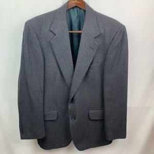 Mens Nordstrom navy Gray Natural Style Blazer 42R